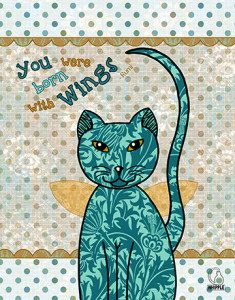 Rumi Cat series by Cat Whipple 2 235x300 My Rumi Cat Series