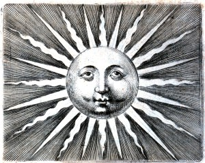 sun engraved image public domain for collage 300x238 Collage Download Freebie #3