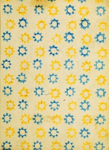 flower yellow blue public domain for collage 219x300 Collage Download Freebie #6
