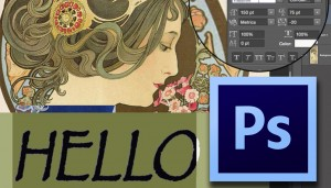 Photoshop Text Tool intro 300x171 Photoshop Text Tool Introduction