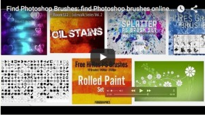 Photoshop brushes 300x169 Find Photoshop Brushes Quick And Easy