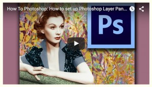 Photoshop layers panel 300x173 Set Up Photoshop Layers Panel And History Panel