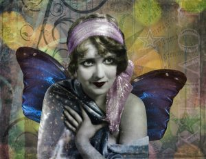 Butterfly Beauty FINAL 300x232 Photoshop Collage with Vintage Images
